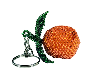 Keychain Charm - Orange