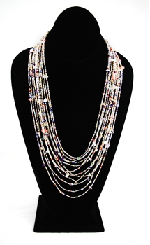 Necklace - Cascade - Pastel Confetti