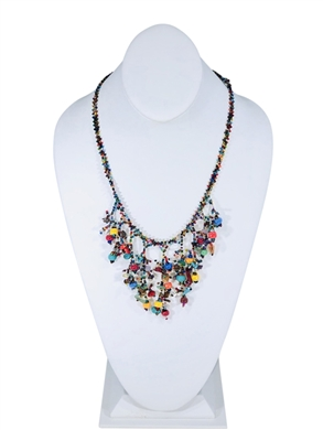 Necklace - Cleavage Multicolor