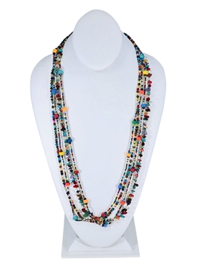 Easy Elegance Necklace - Multicolor