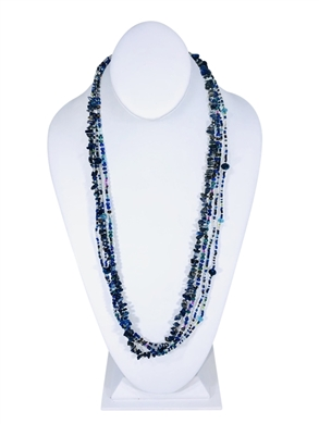 Easy Elegance Necklace - Ocean Blue