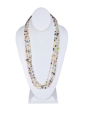 Easy Elegance Necklace - Pastel/Confetti
