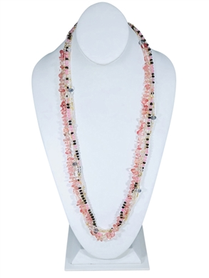 Easy Elegance Necklace - Rose