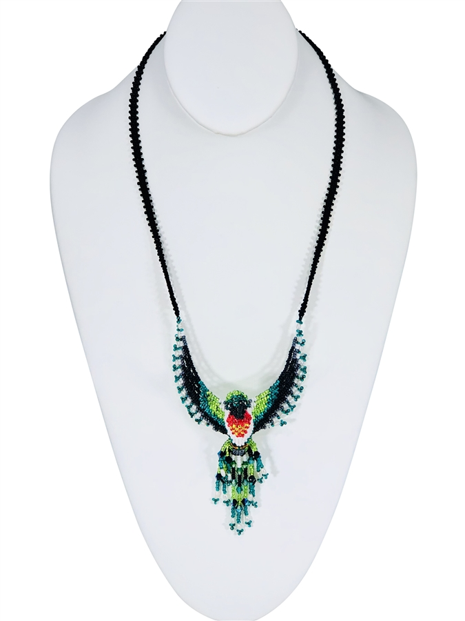 Necklace - Hummingbird ruby throated