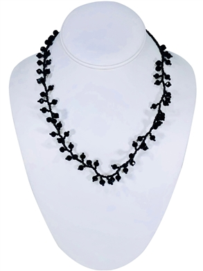 Ana Necklace - Black