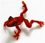 Pin - Tree Frog Red/Orange