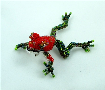 Pin - Tree Frog Red w/ Green Legs