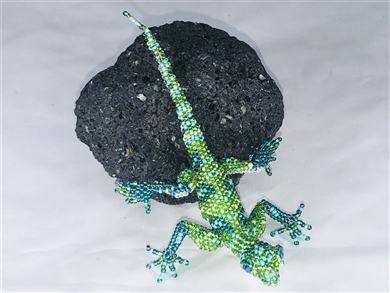 Pin Deluxe - Lizard Lime/Turquoise/Emerald