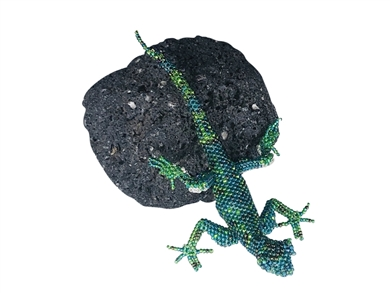 Pin Deluxe - Lizard Turquoise/Green