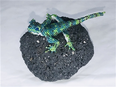 Pin - Lizard Green