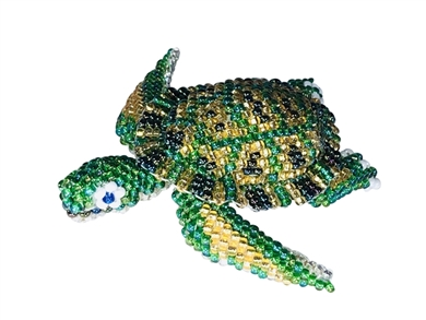 Pin Deluxe - Turtle Green/Gold
