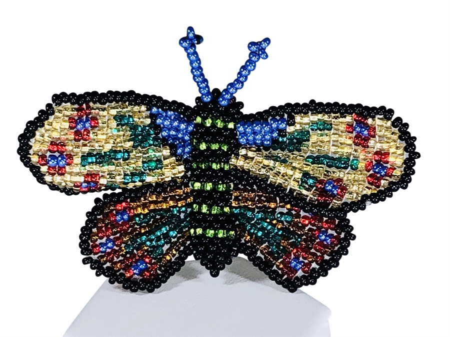Pin - Butterfly Multicolor