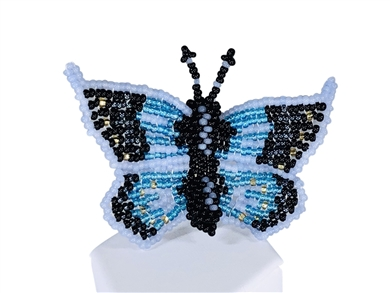Pin - Butterfly Blue