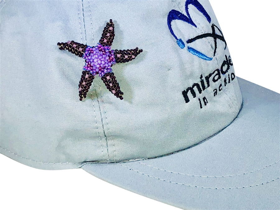 Pin - Starfish Purple