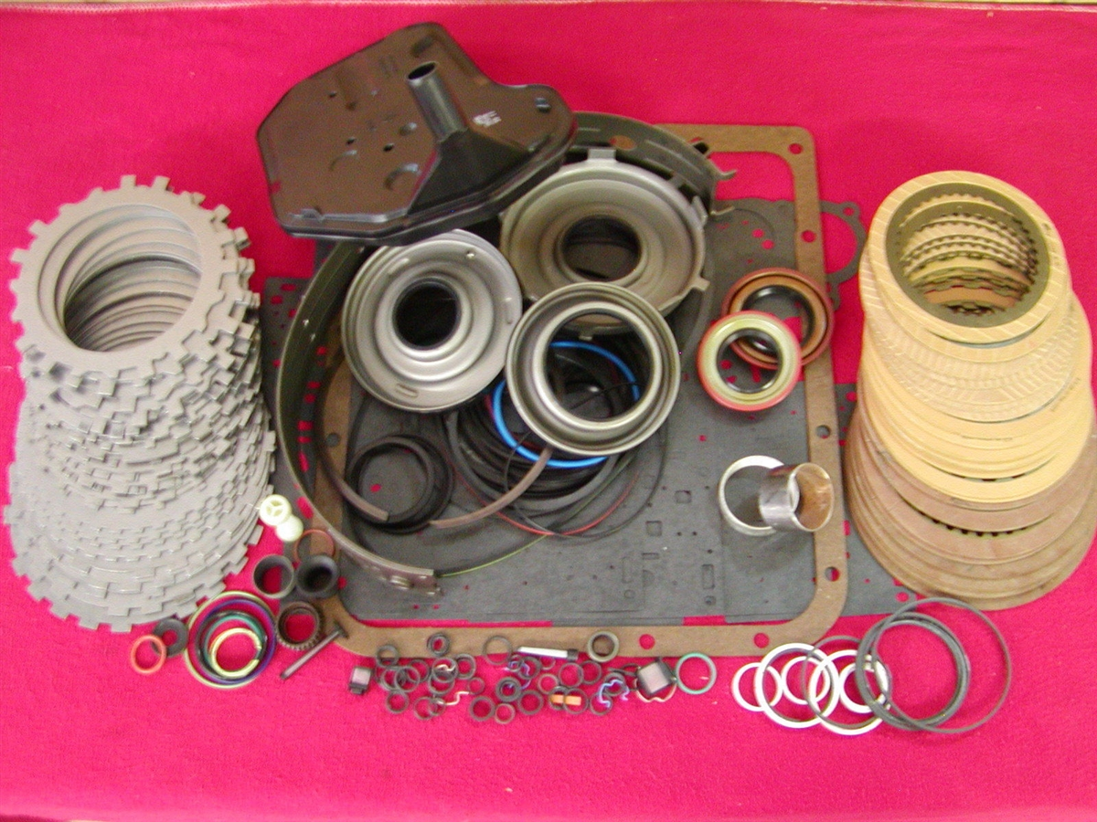 4L60E 4L60-E MASTER KIT W//HIGH FRICTION CLUTHES AND STEEL 1993-2003