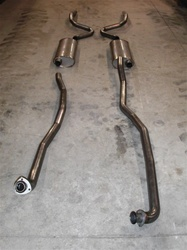 "L. 68-72 SB 2.5"" Stainless fits Factory Manifolds"