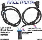 176-RXLS2-KSRH - RACETRONIX LS1- LS2 KNOCK SENSOR RELOCATION HARNESS
