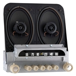 184-132314B 1951-52 Chevy AM FM Stereo w Speakers