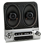 184-152314B 1953-54 Chevy AM FM Stereo w Speakers