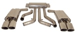 FCOR-0005 - Billy Boat Exhaust 1990 - 1991 ZR-1, 3""