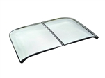 8-100 LOF Tempered Mirrored Corvette Glass T-Tops