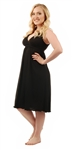 1023 Amamante Signature Amamante Little Black Dress Nursing Nightgown