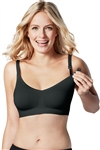 Bravado Body Silk Nursing Bra - Black