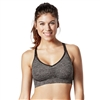 Bravado Silk Seamless Yoga Bra - Charcoal Heather