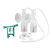 Ameda Dual HygieniKit with One Hand Breast Pump
