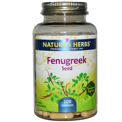 Natures Herbs Fenugreek Capsules
