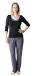 Amamante Solace Yoga Nursing Pajamas