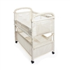 Arms Reach Clear-Vue Co-Sleeper Bassinet - Natural