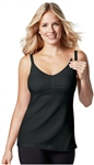 Bravado Dream Nursing Tank - Black