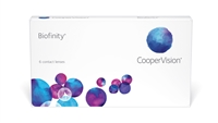 Biofinity monthly Contact Lenses CooperVision