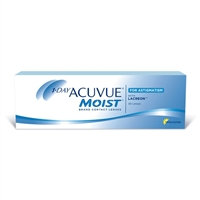 1 Day Acuvue Moist for Astigmatism 30 Pack Contact Lenses