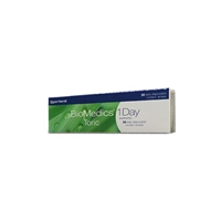 Biomedics One Day Toric Contact Lenses CooperVision 30 Pk