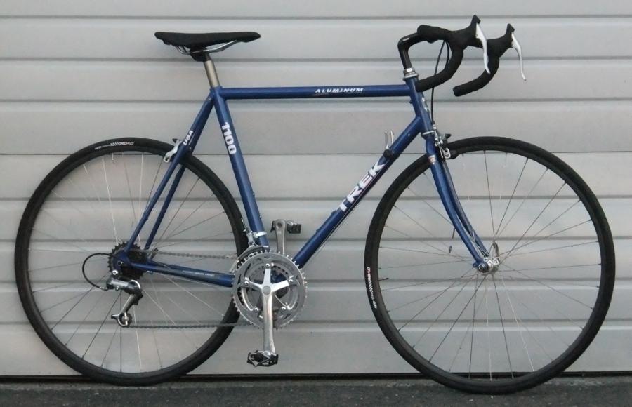 56cm trek 1100 aluminum road bike 58 511