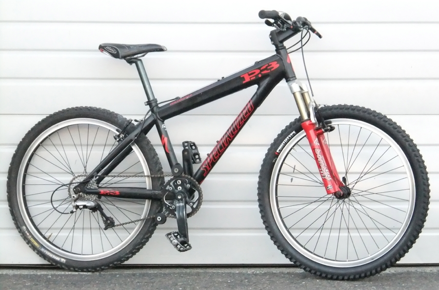 "18"" Specialized P3 Fox Hardtail Mountain Bike 5'6""-5'9"""