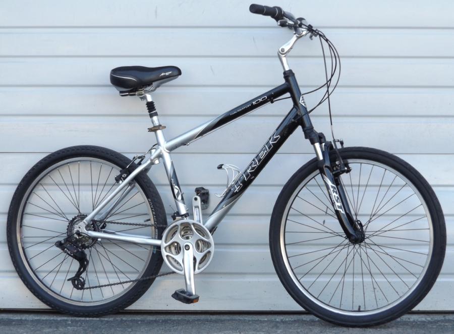16 Quot Trek Navigator 100 Aluminum Comfort Utility Bike 5 4 Quot 5 7 Quot