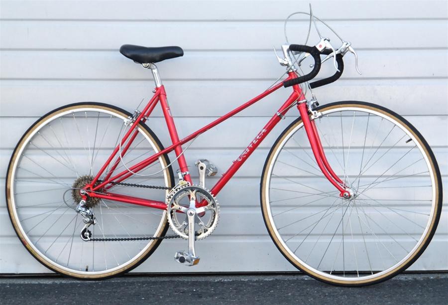 50cm Vintage Univega Mixte 12 Speed Road Bike 5 3 5 6