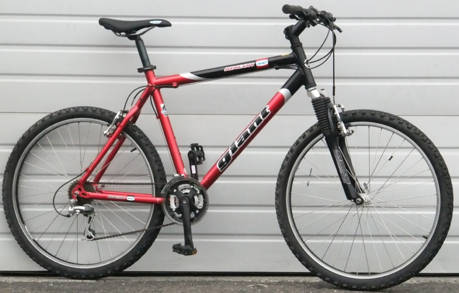 21 Large Giant Rincon Se 21 Speed Aluminum Hardtail Mountain Bike
