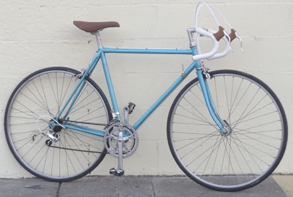 "52cm BENOTTO Lugged Butted Shimano Vintage Road Bike ~5'4""-5'7"""