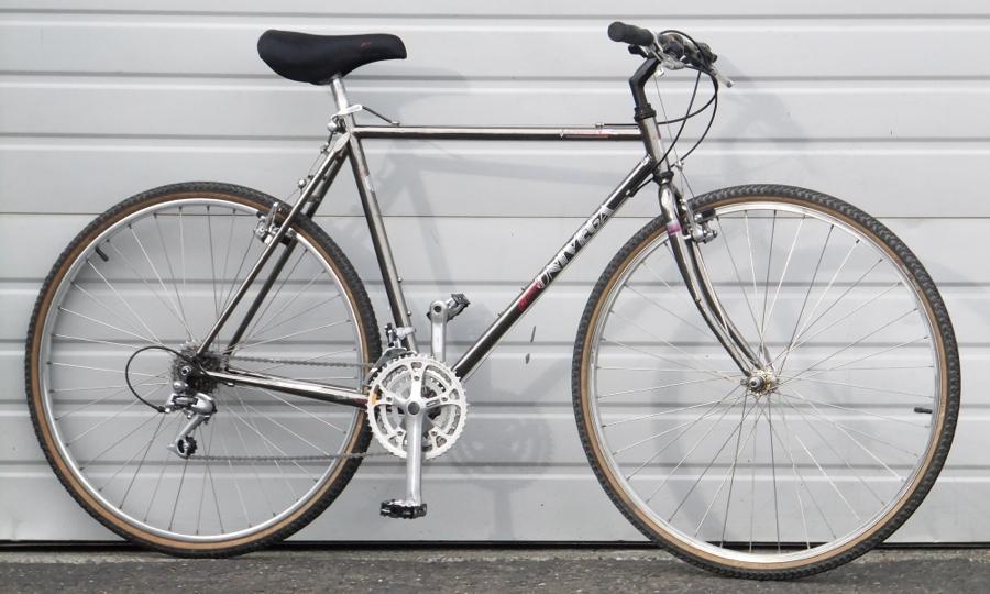 20 5 52cm Univega Via Carisma Chromoly Hybrid Road Utility Bike 5