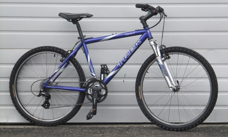 16 5 Trek 820 Front Suspension 21 Speed Mountain Bike 5 5 5 8