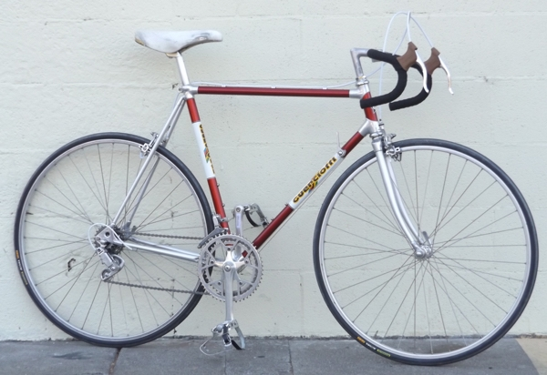 "56cm GUERCIOTTI Tourist Campagnolo Lugged Vintage Road Bike ~5'10""-6'1"""