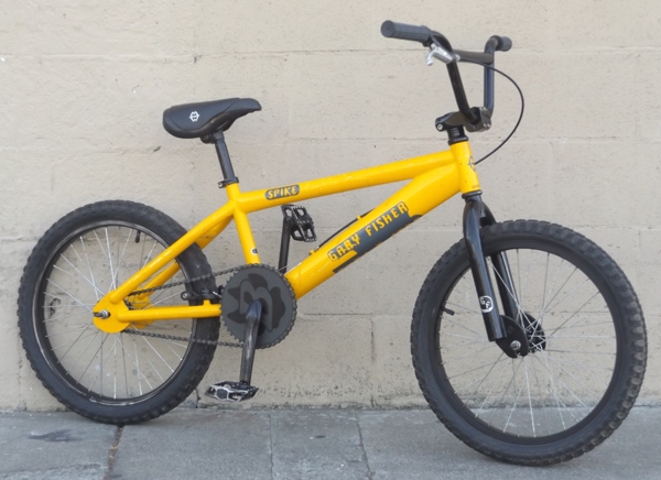 "20"" Wheel GARY FISHER Spike Racing BMX Bike ~5'0""-5'10"""