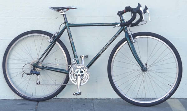 "53.5cm TREK 520 Butted Cr-Mo USA Made LX 105 Touring Bike ~5'6""-5'9"""