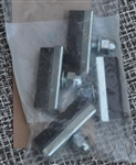 caliper brake shoe set 2 pair new