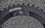 42t Miche Advanced 144 bcd aluminum chainring black