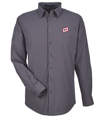 DEVON & JONES® CROWNLUX PERFORMANCE™ MEN'S MINI CHECK SHIRT